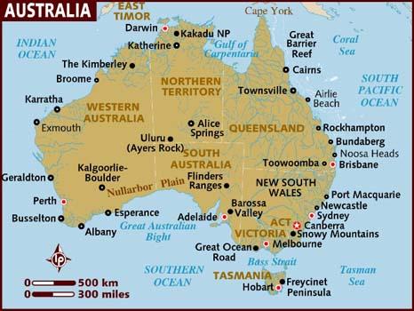Map Of Australia Video.Mountain Gliding Australia Videos